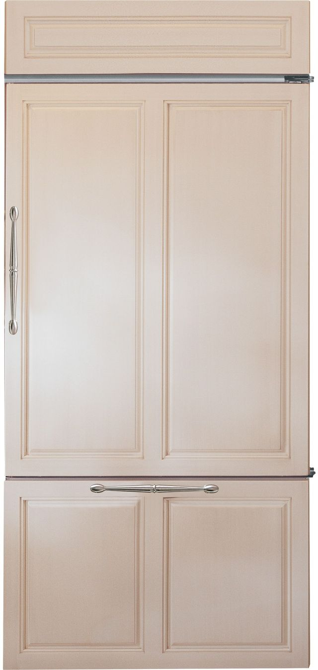 Monogram® 21.33 Cu. Ft. Custom Panel Built In Bottom Freezer Refrigerator-ZIC360NNRH