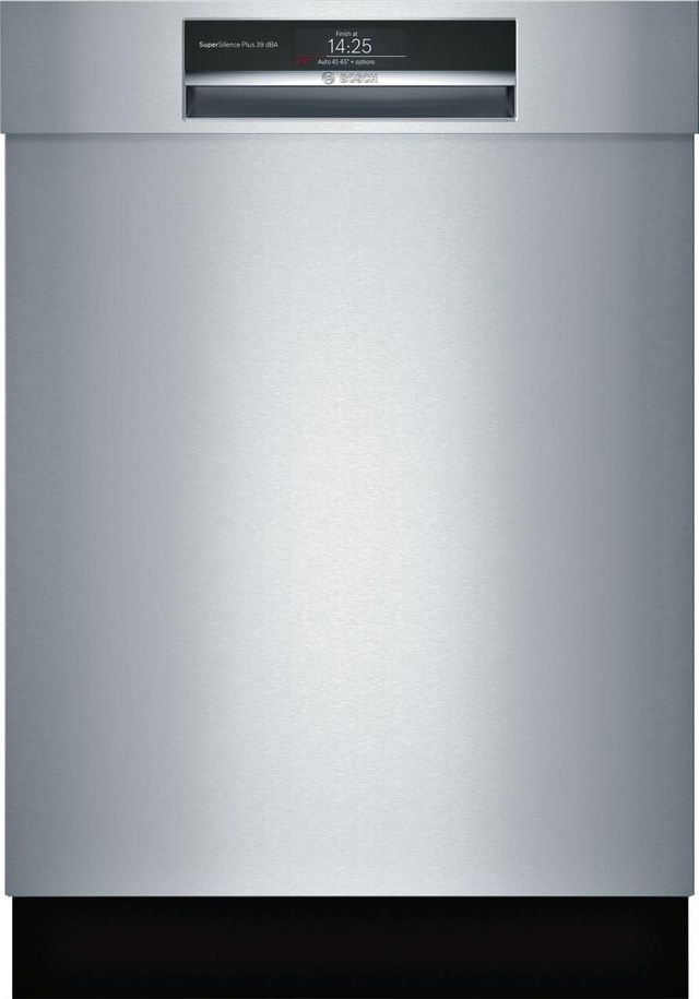 """Bosch Benchmark® Series 24"""" Stainless Steel Built In Dishwasher-SHE89PW55N"""