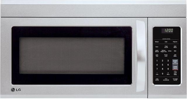 LG 1.8 Cu. Ft. PrintProof™ Stainless Steel Over The Range Microwave-LMV1831SS