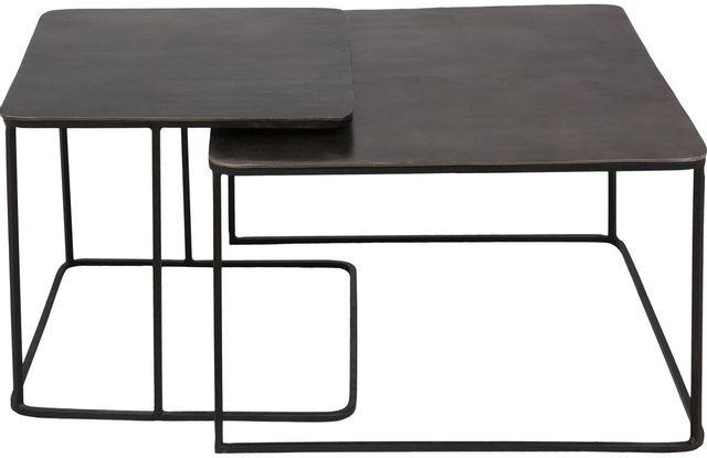 Tables gigognes rectangulaire Rafferty, noir, Renwil®-TA332