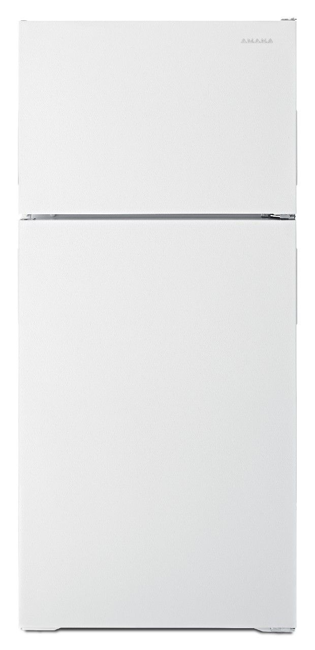Amana® 16 Cu. Ft. White Top Freezer Refrigerator-ART316TFDW