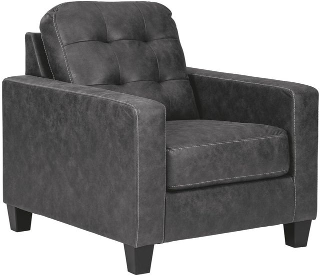 Benchcraft® Venaldi Gunmetal Chair-9150120
