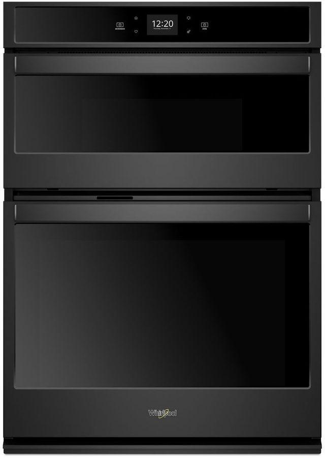 "Whirlpool® 30"" Black Smart Combination Wall Oven-WOC54EC0HB"