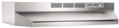 "Broan® 41000 Series 30"" Stainless Steel Ductless Under Cabinet Range Hood-413004"