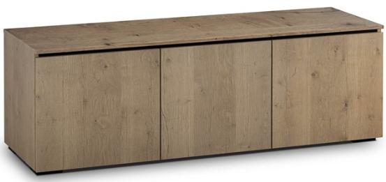 Salamander Designs® Chameleon Lancaster 237 Barnboard Oak AV Cabinet-C/LA237/BBO