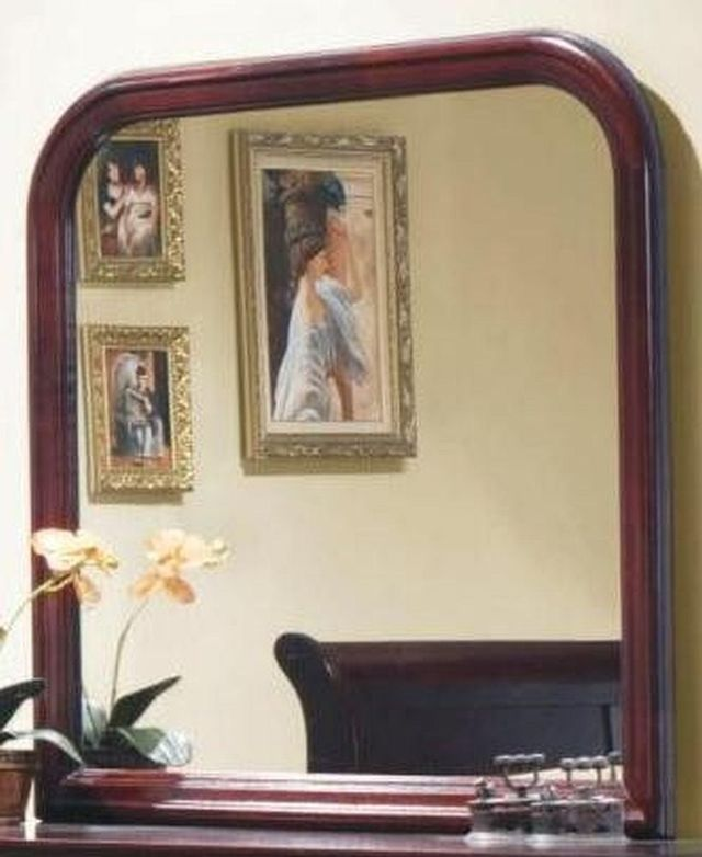 Coaster® Louis Philippe Red Brown Mirror-203974