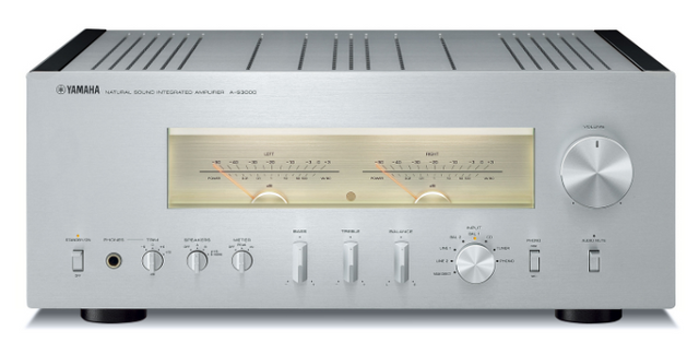 Yamaha Silver Natural Sound Integrated Amplifier-A-S3000SL