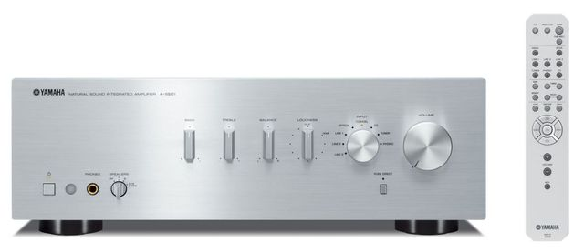 Yamaha Silver 2 Channel Integrated Amplifier-A-S501SL