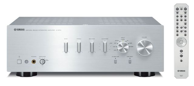 Yamaha Silver 2 Channel Integrated Amplifier-A-S701SL
