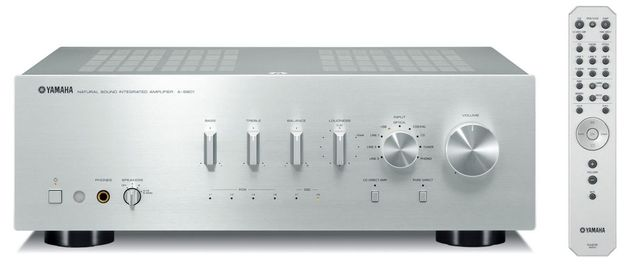 Yamaha Silver 2 Channel Integrated Amplifier-A-S801SL