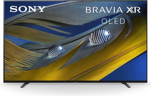 "Sony® A80J 77"" BRAVIA XR HDR 4K Ultra HD OLED Smart Google TV-XR77A80J"