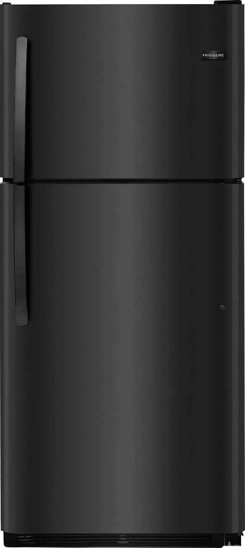 Frigidaire® 20.4 Cu. Ft. Black Top Freezer Refrigerator-FFTR2021TB