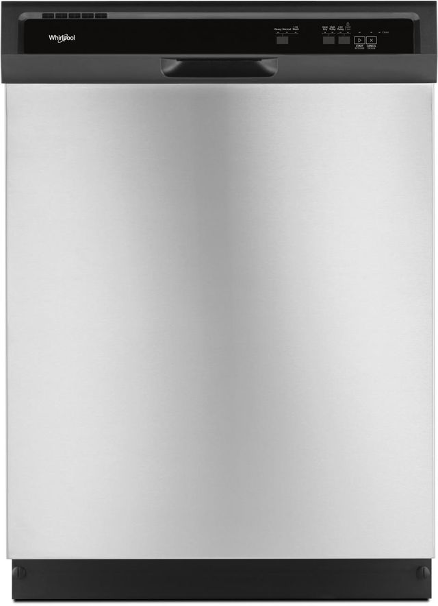 """Whirlpool® 24"""" Built In Dishwasher-Stainless Steel-WDF330PAHS"""