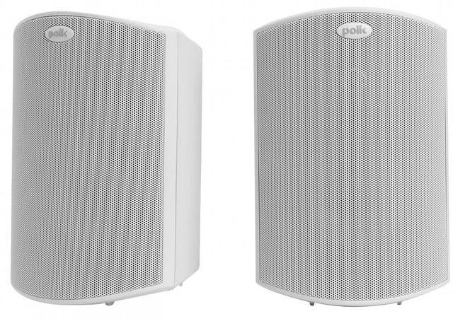 """Polk Audio® Atrium®5 White 5"""" All Weather Outdoor Loudspeakers-AM4088"""