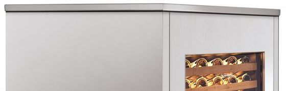 """Sub-Zero® 24"""" Integrated Stainless Steel Top Panel-7031342"""