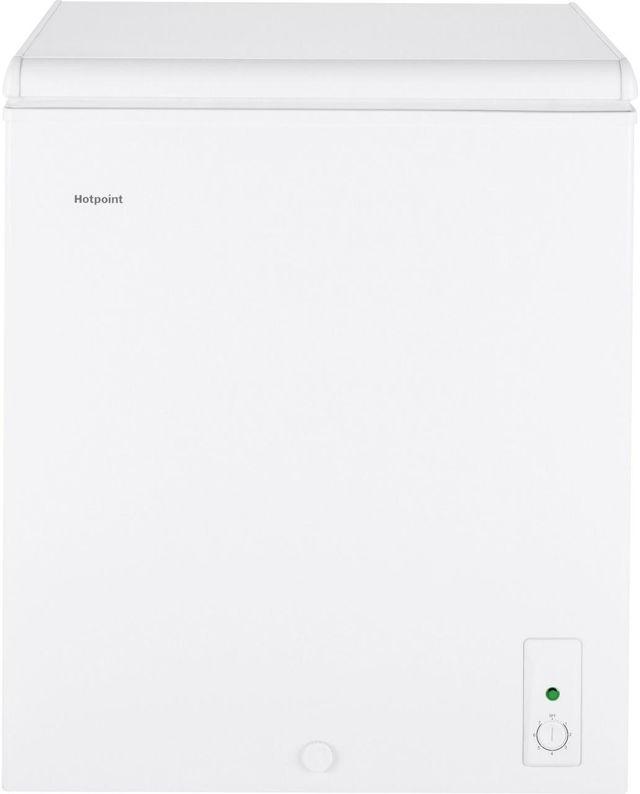 Hotpoint® 5.1 Cu. Ft. White Chest Freezer-HHM5SMWW