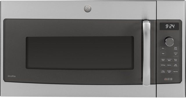 GE® Profile™ Series 1.7 Cu. Ft. Stainless Steel Over The Range Microwave-PSA9240SFSS