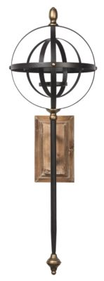 Signature Design by Ashley® Dina Black/Gold Wall Sconce-A8010118