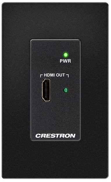 Crestron® DM Lite – HDMI® Over CATx Receiver-Black-HD-RX-101-C-1G-E-B-T
