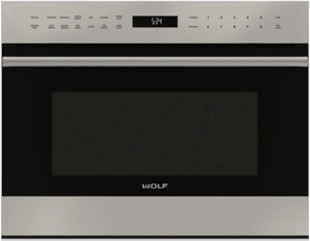 """Wolf® E Series Transitional 24"""" Stainless Steel  Built In Microwave Oven-MDD24TE/S/TH"""
