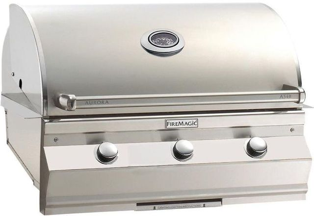 Fire Magic® Aurora Collection Built In Grill-Stainless Steel-A540i-5EAP