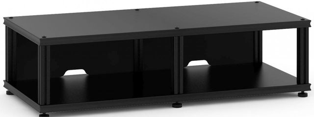 Salamander Designs® Synergy Twin 10 AV Cabinet-Black-SN10B/B