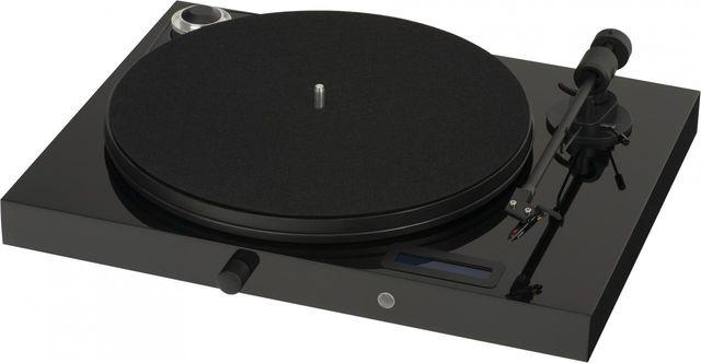 Pro-Ject High Gloss Black Juke Box E Turntable-Juke Box E-BL