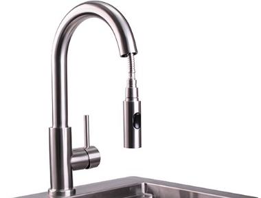 Lynx® Professional Series Gooseneck Pull Down Faucet-LPFK