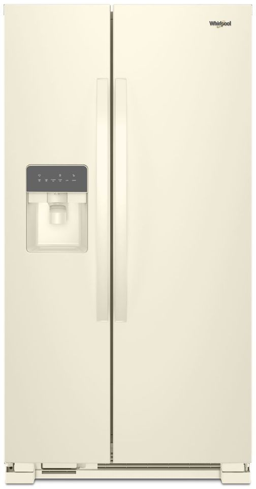 Whirlpool® 24.6 Cu. Ft. Side-By-Side Refrigerator-Biscuit On Biscuit-WRS315SDHT