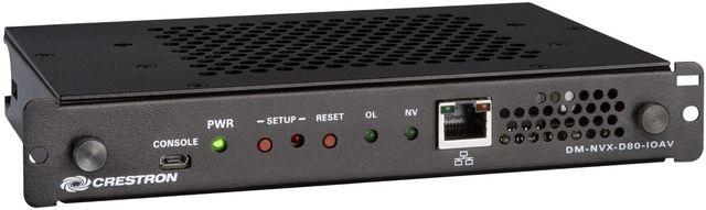 Crestron® DM NVX® 4K60 4:4:4 HDR Network AV OPS Decoder-DM-NVX-D80-IOAV
