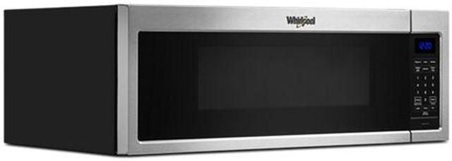 Whirlpool® 1.1 Cu. Ft. Stainless Steel Low Profile Microwave Hood Combination-WML35011KS