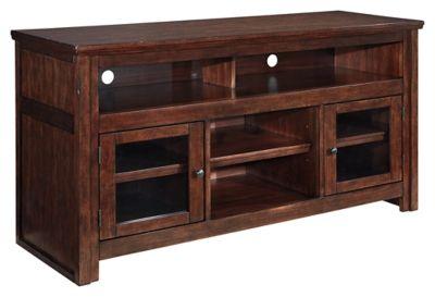 "Signature Design by Ashley® Harpan Reddish Brown 60"" TV Stand-W797-38"