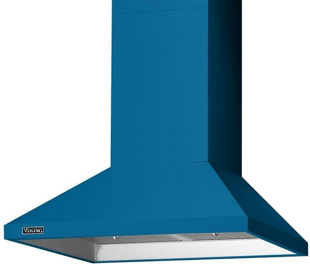 "Viking® 3 Series 29.88"" Alluvial Blue Chimney Wall Hood-RVCH330AB"