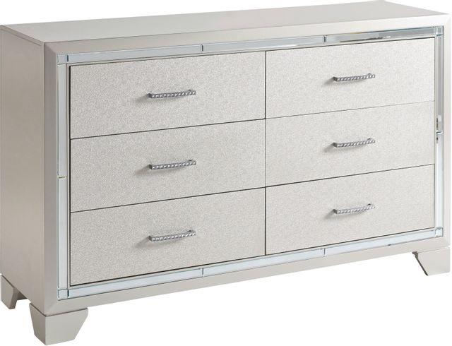 Signature Design by Ashley® Lonnix Silver Dresser-B410-21