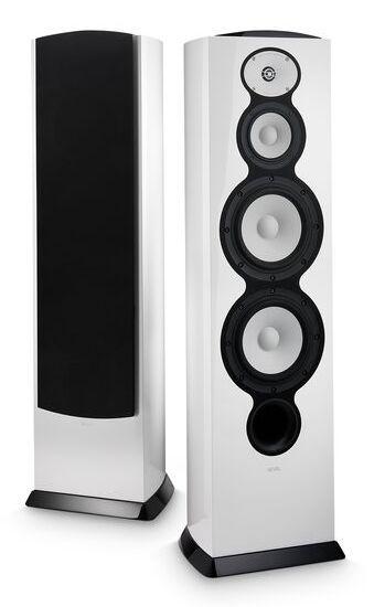 "Revel® F228Be White 3-Way Dual 8"" Floor Standing Loudspeaker-REVF228BEWHT"