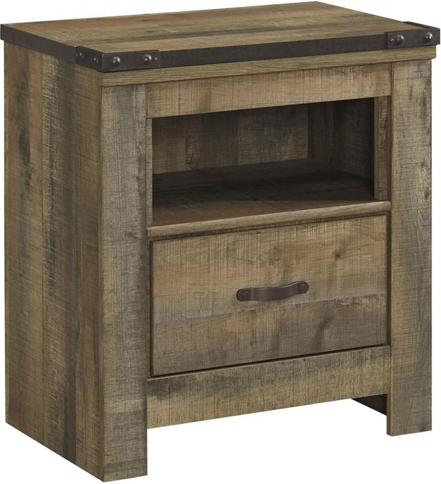 Signature Design by Ashley® Trinell Rustic Brown Nightstand-B446-91