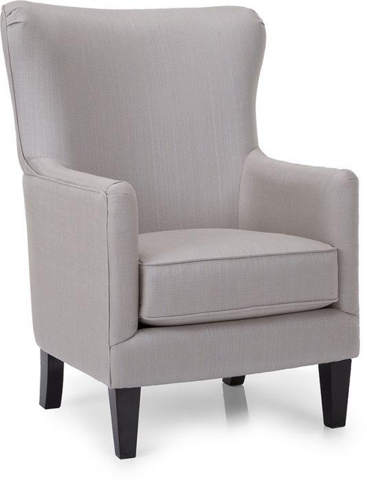 Decor-Rest® Furniture LTD 2379 Beige Accent Chair-2379-CHAIR