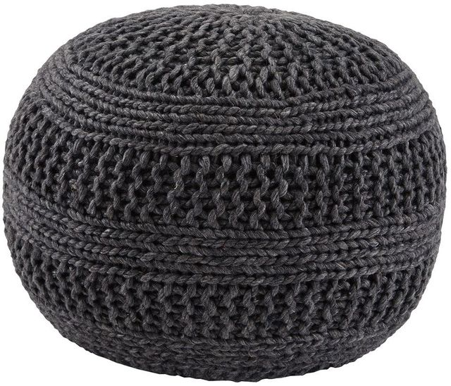 Signature Design by Ashley® Benedict Charcoal Pouf-A1000559