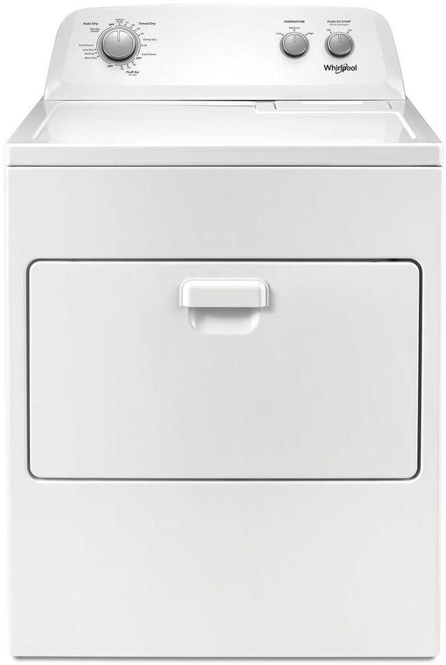 Sécheuse au gaz Whirlpool® de 7,0 pi³ - Blanc-WGD4850HW