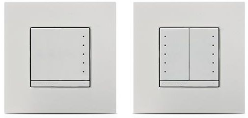 Crestron® In-Wall 0-10V Dimmer-White-CLWI-DIMFLVEX-W