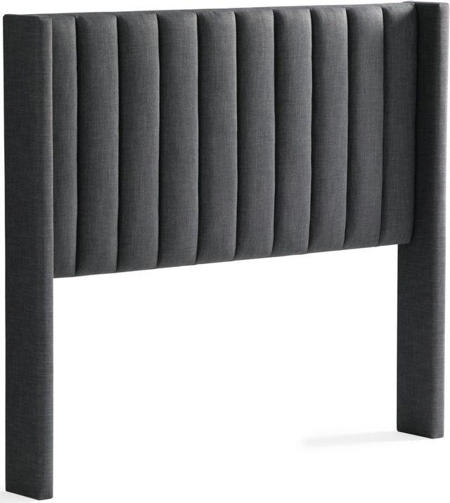 Malouf® Sleep Blackwell Charcoal Full Headboard-STFFCHBLWBHB