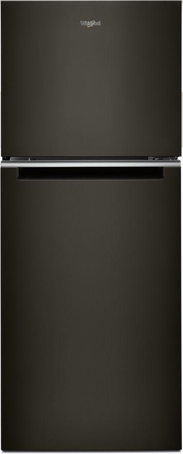 Whirlpool® 11.6 Cu. Ft. Black Stainless Steel Top Freezer Refrigerator-WRT312CZJV