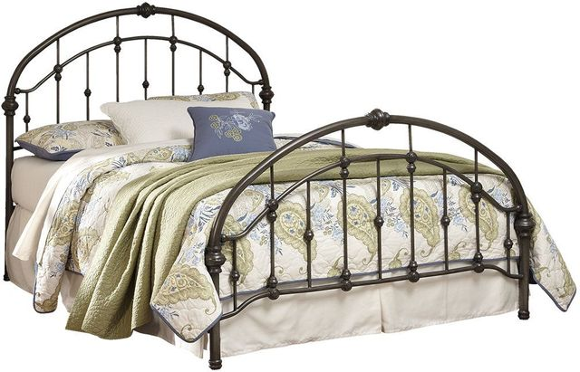 Signature Design by Ashley® Nashburg Bronze Finish Queen Metal Bed-B280-181
