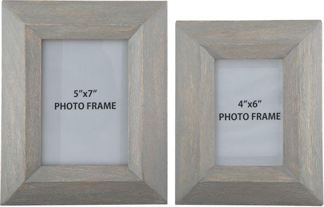 Signature Design by Ashley® Cadewyn Set of 2 Gray Photo Frames-A2000159