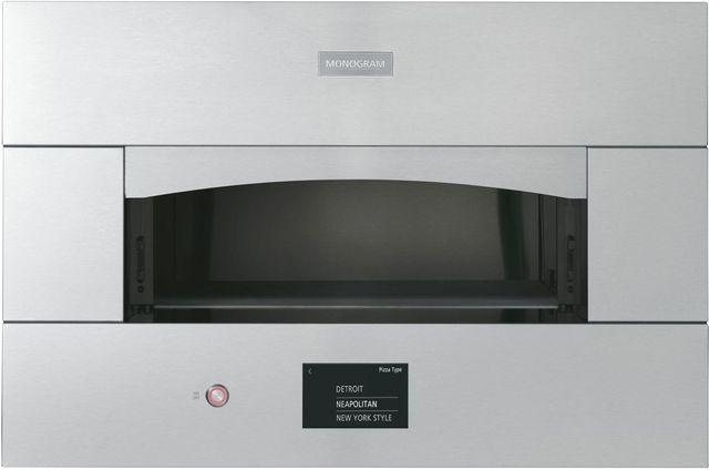 "Monogram® 29.81"" Stainless Steel Smart Hearth Oven-ZEP30SKSS"
