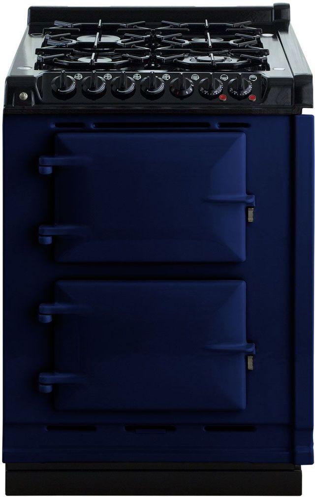 "AGA 24"" Dark Blue Integrated Dual Fuel Range-TCDCNGM-DBL"