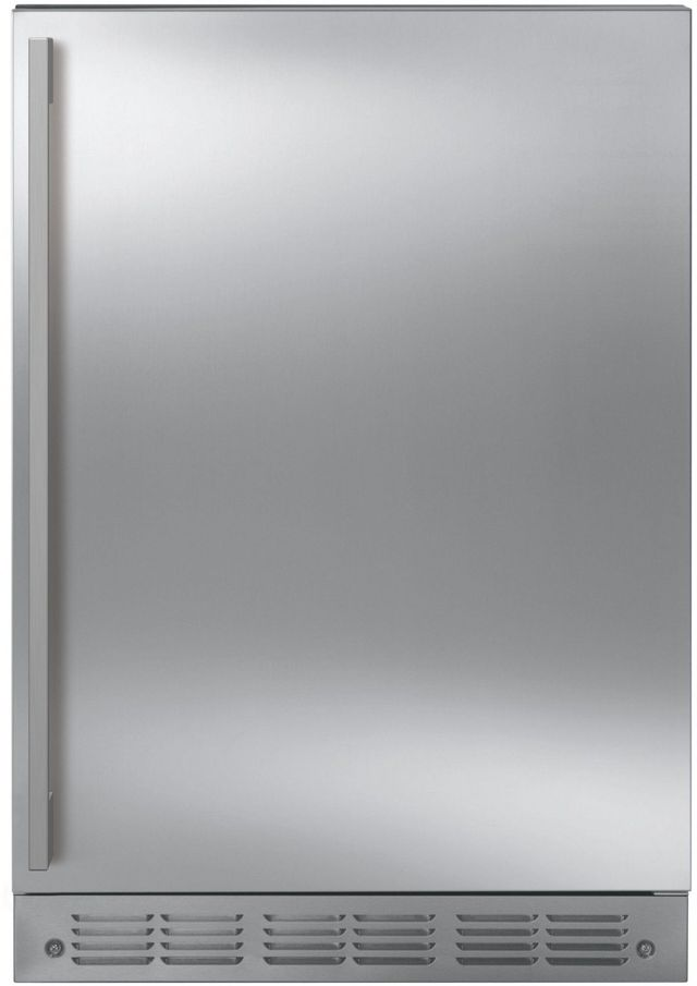 Monogram® 5.4 Cu. Ft. Stainless Steel Under the Counter Refrigerator-ZIFS240NSS