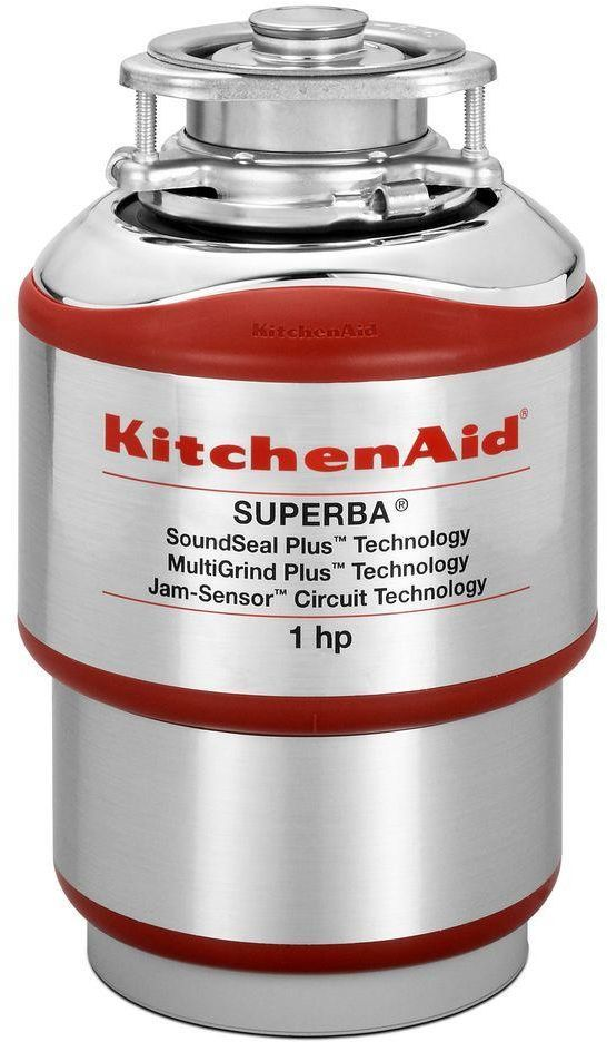 KitchenAid® Red Continuous Feed Food Waste Disposer-KCDS100T