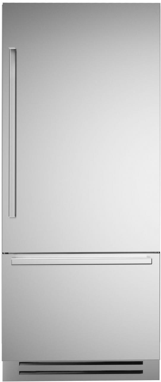 Bertazzoni Professional Series 17.7 Cu. Ft. Stainless Steel Built In Bottom Mount Refrigerator-REF36PIXR