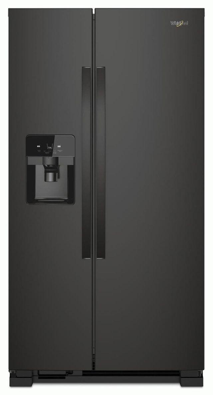 Réfrigérateur côte-à-côte de 33 po Whirlpool® de 21,4 pi³ - Blanc-WRS321SDHB